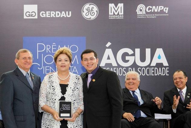Aluno da Ufersa vencedor do Prêmio Jovem Cientista faz apresentação na Reunião da SBPC no Acre