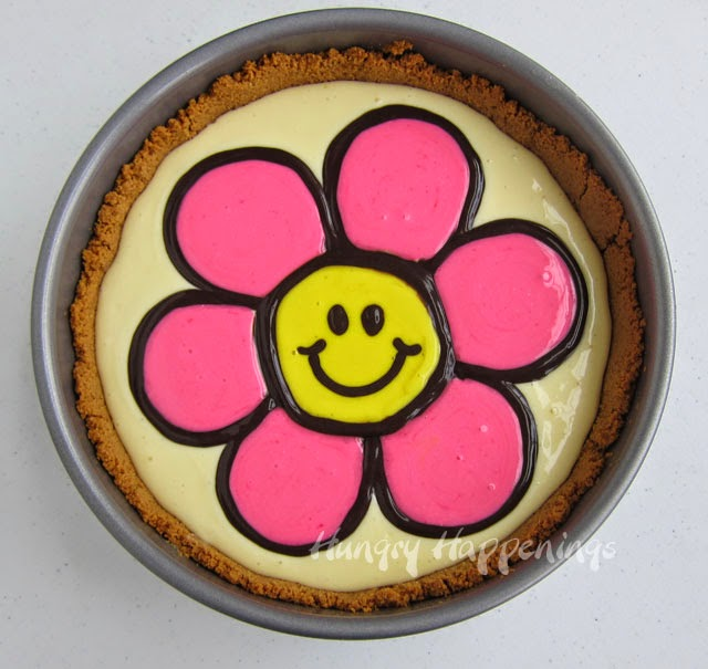 Decorated cheescake