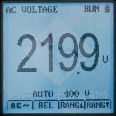 Режим мультиметра измерительного прибора UNI-T UT81B