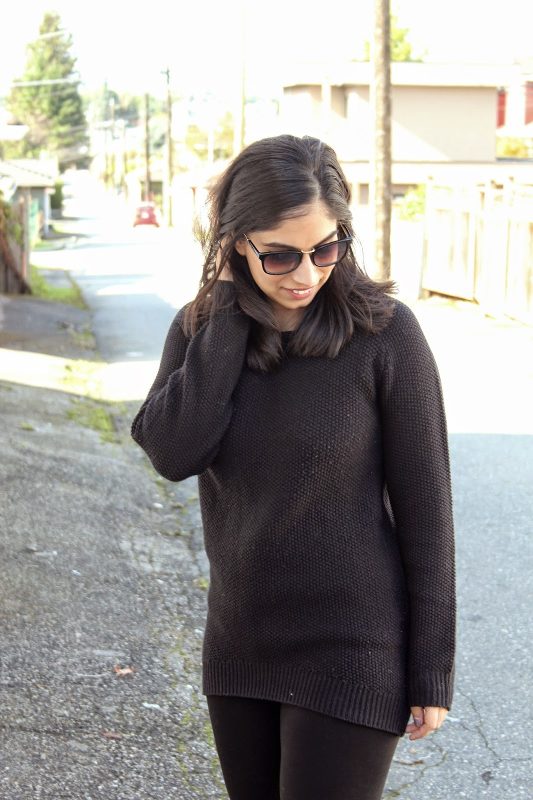 all black fall casual http://www.footnotesandfinds.com