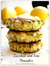 Zucchini and Feta Pancakes