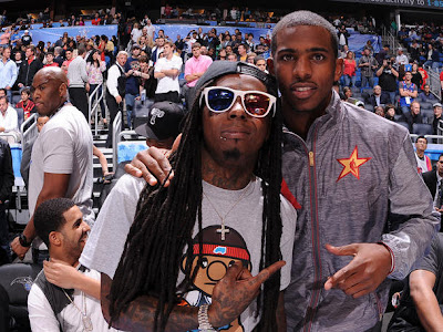fotos de lil wayne y chris paul