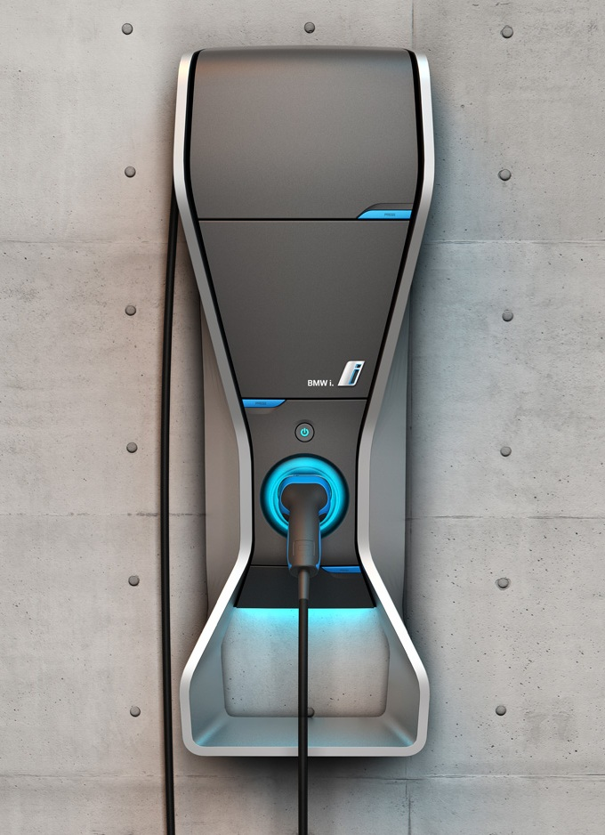 The Electric Bmw I3 Bmw I Selects Schneider Electric As