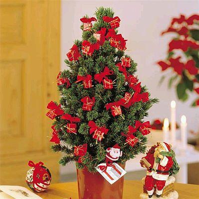 arboles de navidad color rojo parte 2 - Arbol De Navidad Pequeo