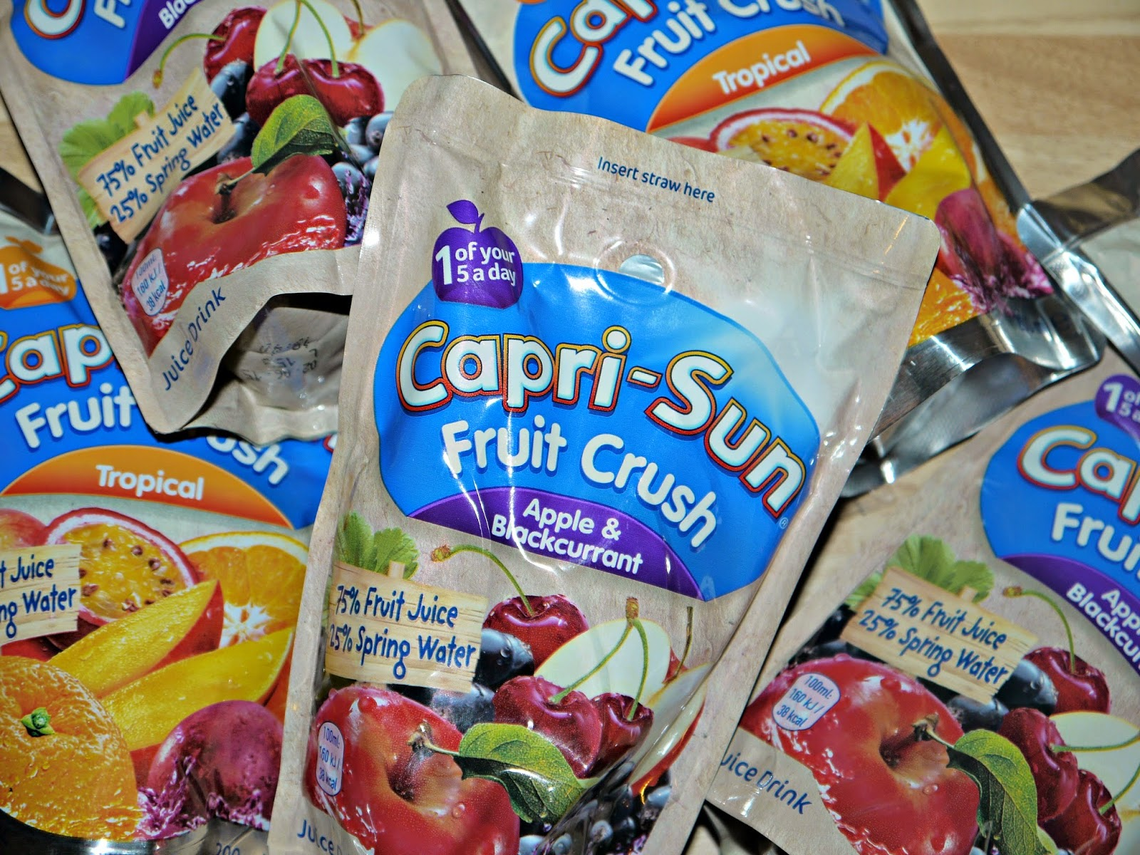 Capri-sun, lunchbox ideas