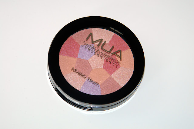 MUA Mosaic Blusher English Rose blogger review make up beauty