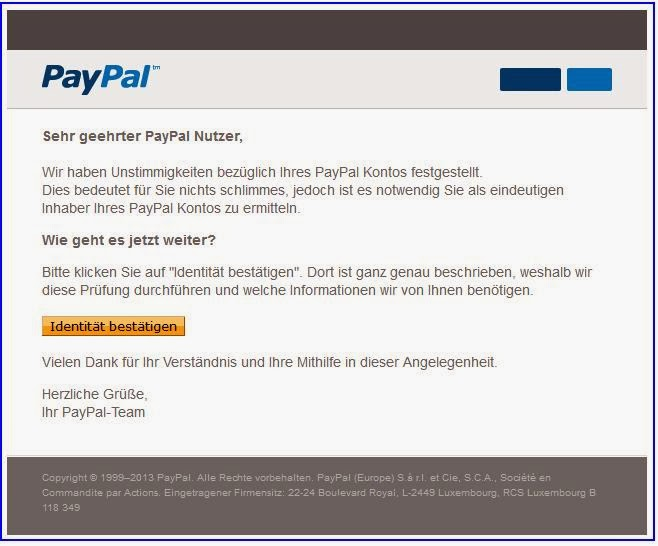 how to create a phishing email