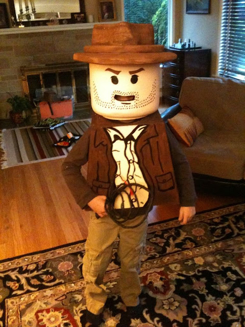 Disfraz creativo: Indiana Jones Lego