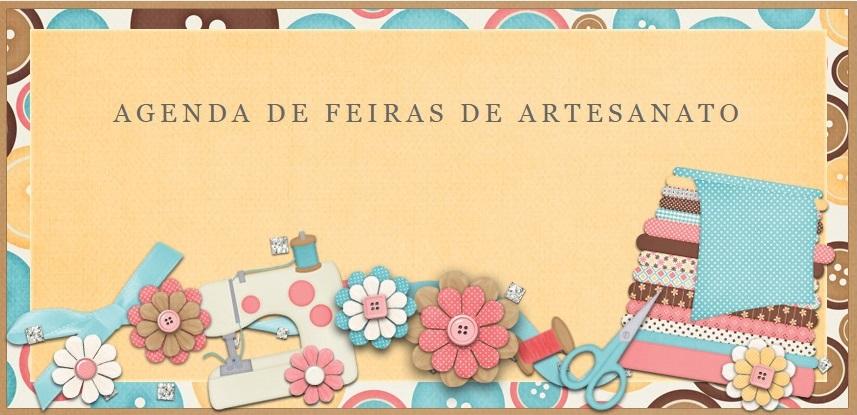 AGENDA DE FEIRAS DE ARTESANATO