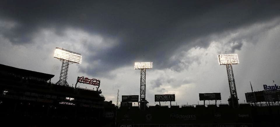 Storm Clouds Gather Over Fenway, Sox Lose, 4-0