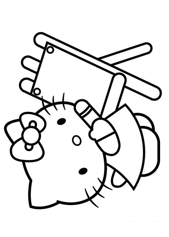 Desenho como desenhar Hello Kitty Pets pintar e colorir