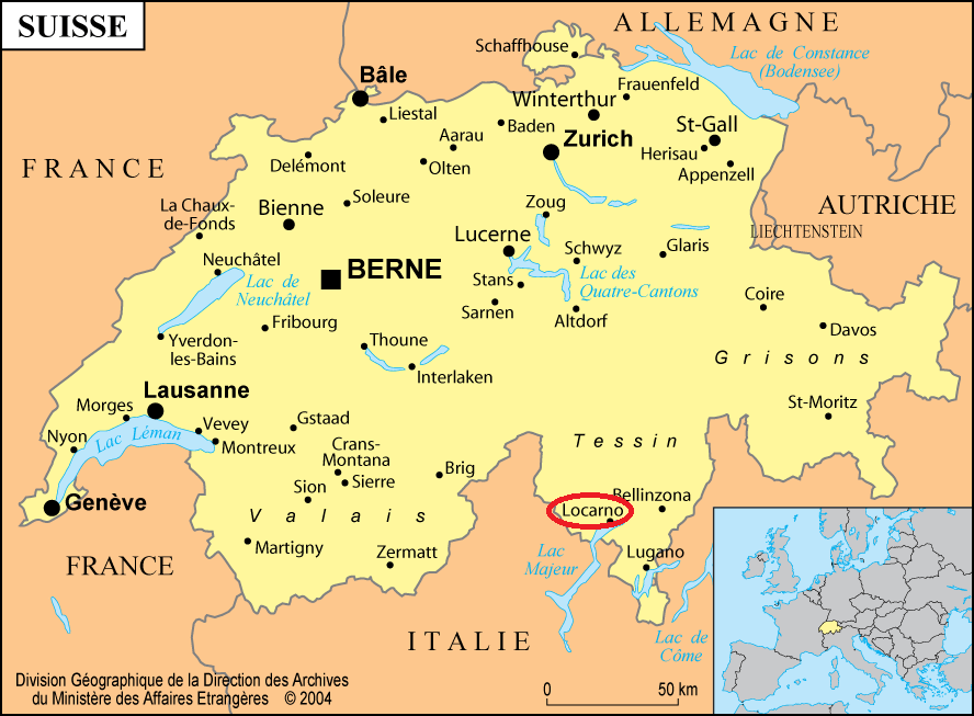 Top Suisse Carte Frontière WI39