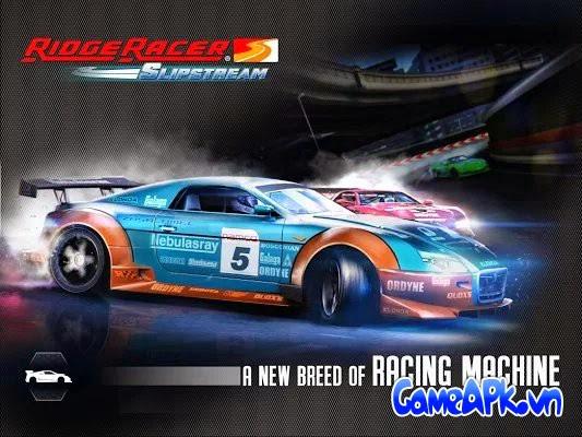 Ridge Racer Slipstream v2.0.3 hack full tiền và xe cho Android