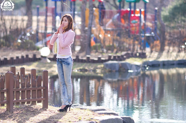 4 Choi Byeol Yee - Simple Beautiful Outdoor-very cute asian girl-girlcute4u.blogspot.com