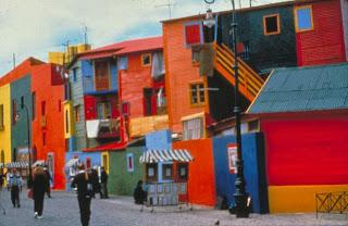 Caminito i La Boca, Bueno Aires