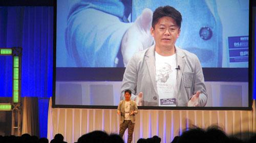 「Interop Tokyo 2015」の基調講演はホリエモンのIoT未来論「仕事の無人化は進むけど、怯える必要はない」