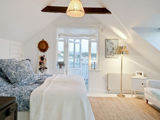 cama con vistas