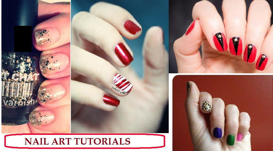 Simple Easy Beautiful Nail Art Tutorials Step By
