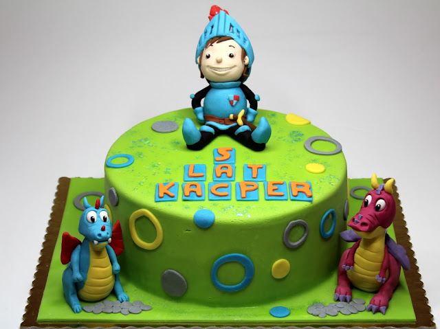 Mike the Knight Birthday Cake - Best Birthday Cakes in Kensington, London