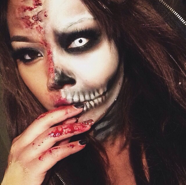 Halloween \'15 Makeup Ideas For Girls ~ Happy Lohri 2016 Quotes ...
