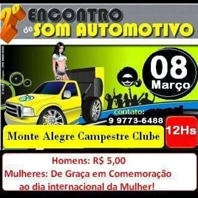 II Encontro De Carro De Som No Monte Alegre Campestre Clube