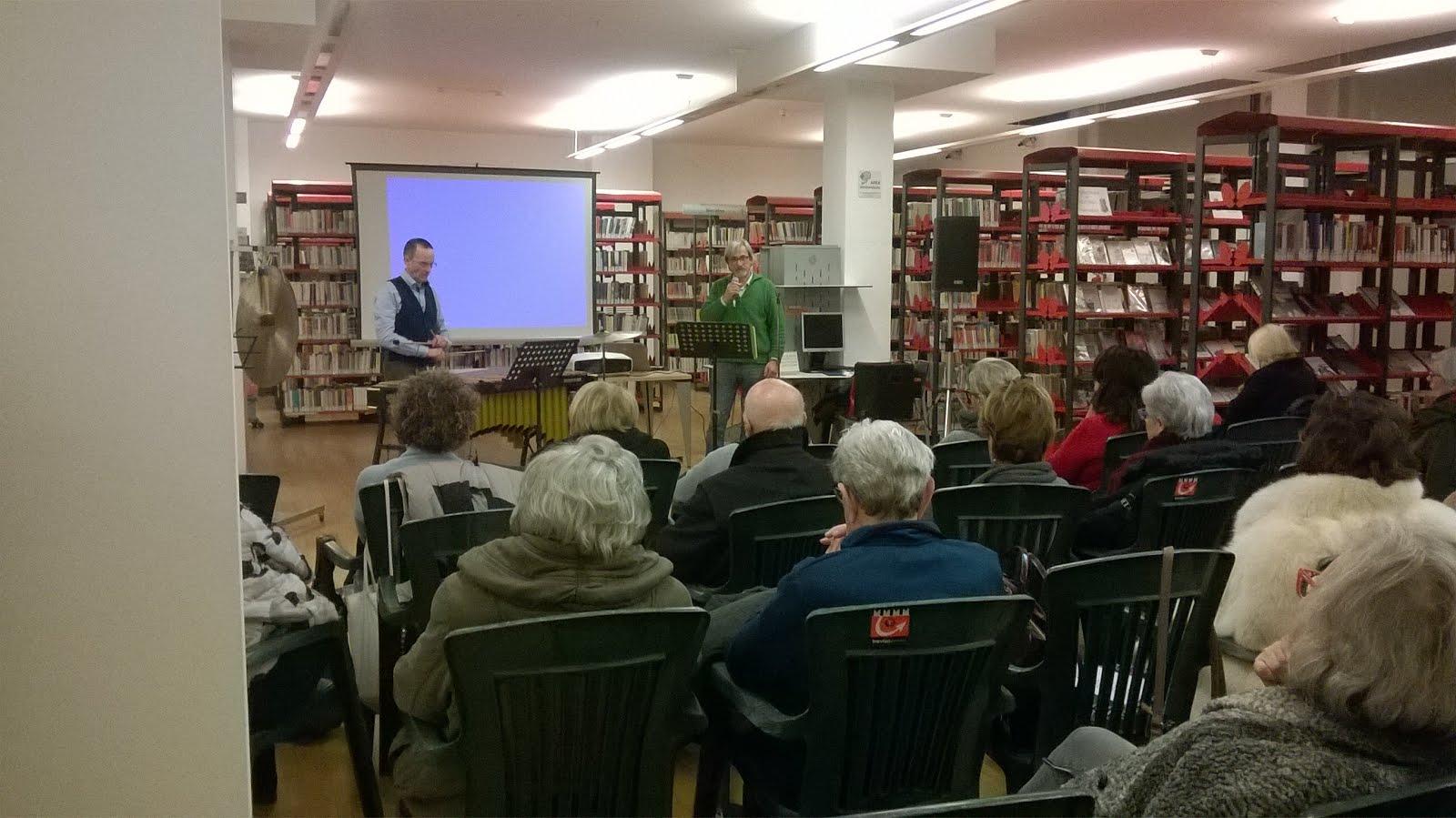Treviso Biblioteca Andrea Zanzotto - 2 dicembre 2018