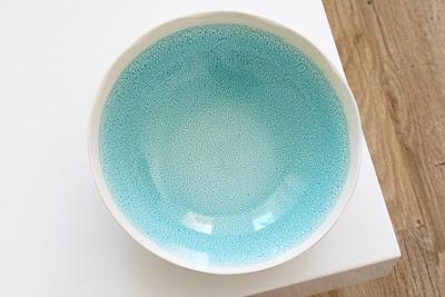 Coupelle bleue