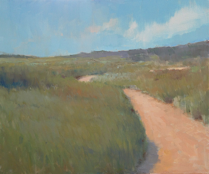 Nowhere To Go But Everywhere    20 x 24 inches | oil on canvas | Steve Allrich