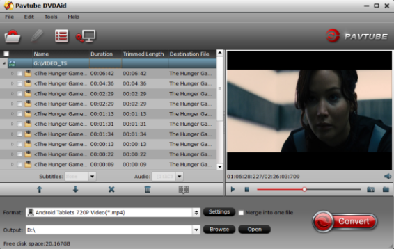 Tegra DVD Ripper