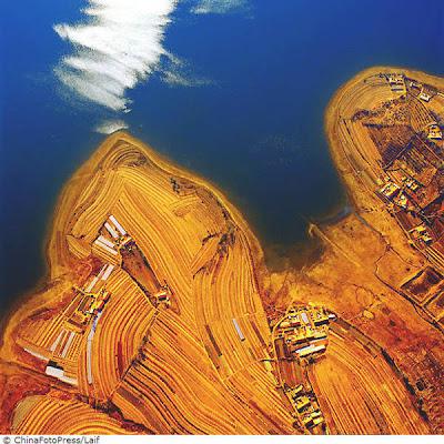 A China vista do Céu
