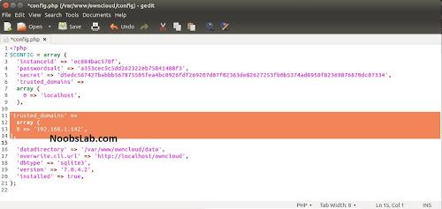 Install owncloud ssl debian