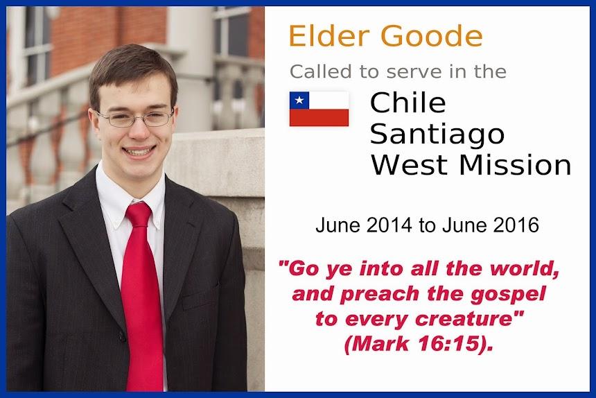 Elder Braxton Goode's Missionary Adventures