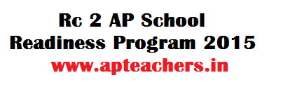 Rc 2 AP 45 Days School Readiness Program 2015