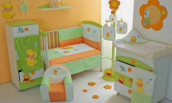Desain Kamar Tidur Anak Tema Winnie The Pooh