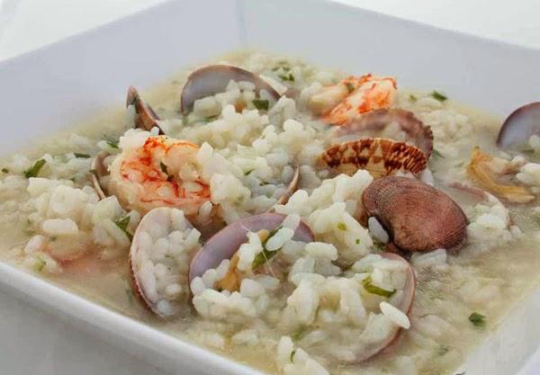 Recetas por puntos recetas por puntos de arroz con gambas - Arroz con gambas y almejas ...