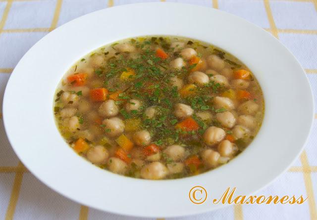Суп из нута. Греческая кухня