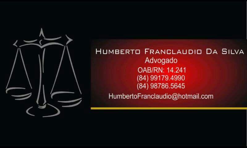 Advogado Humberto Franclaudio
