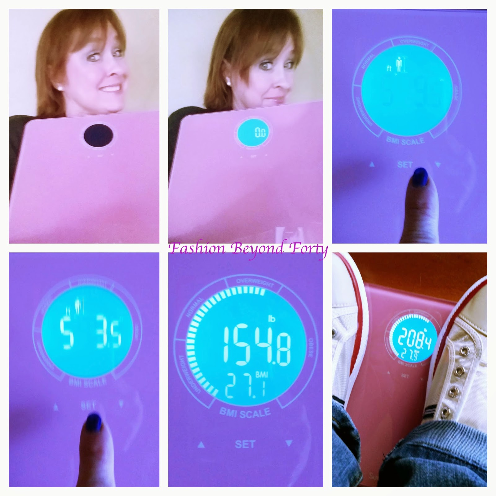 Surphas Shiny Small Lightweight Digital Bathroom Scale