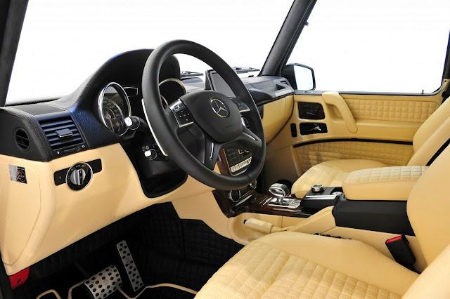 2013 brabus gelandewagen widestar g800 interior