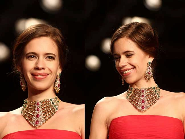 kalki koechlin at India International Jewellery Week (IIJW)-2014