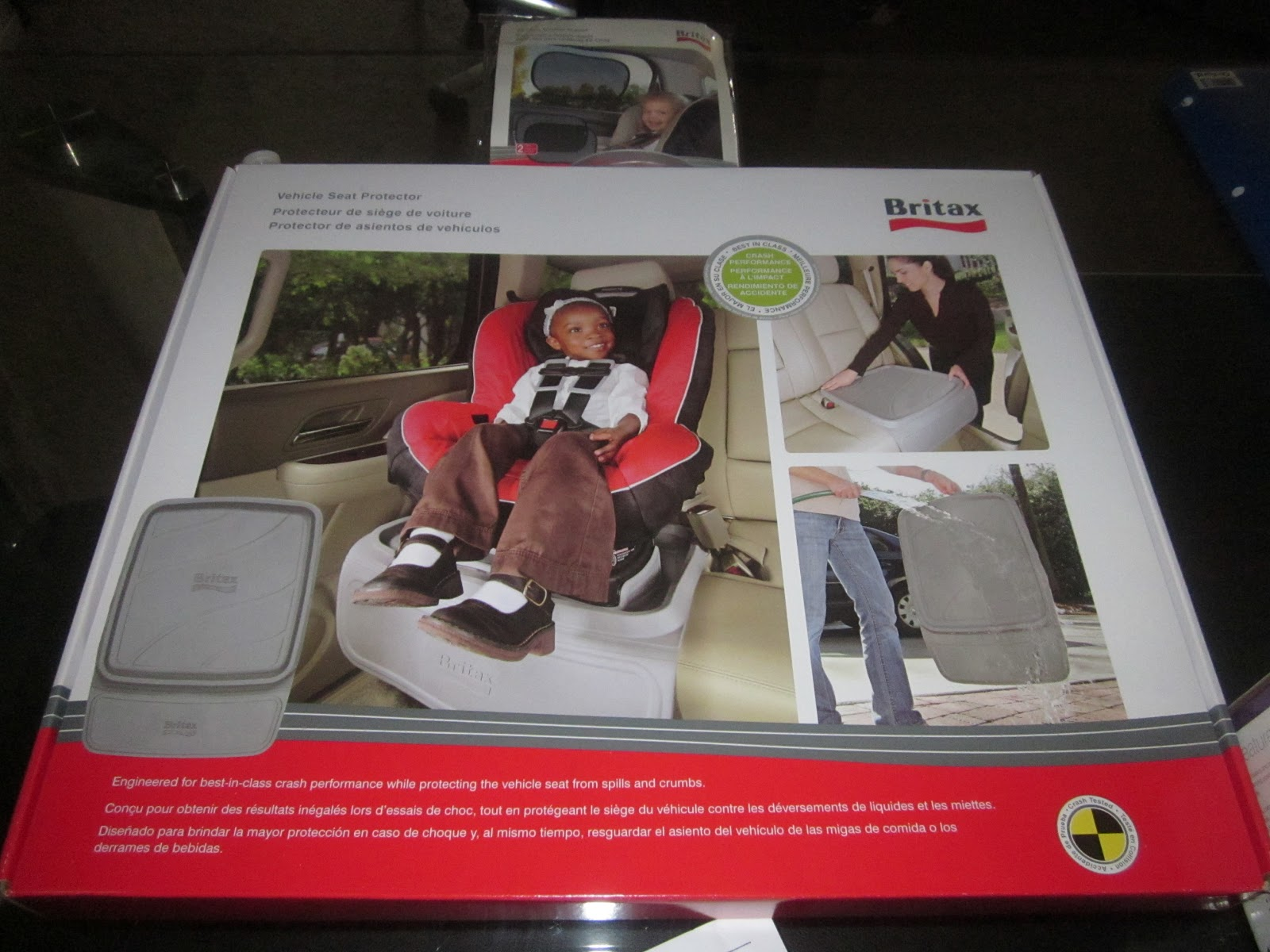 Britax Vehicle Seat Protector Review