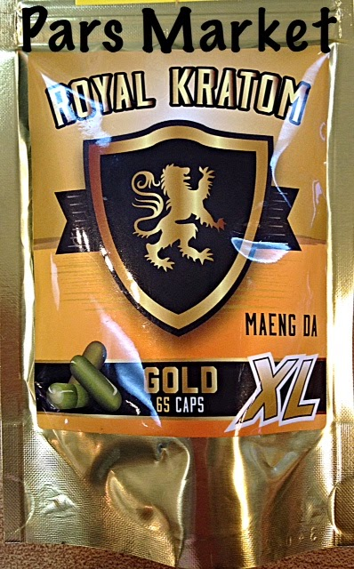 Royal Kratom Maeng Da Gold XL 65 Capsules at Pars Market Columbia Maryland 21045