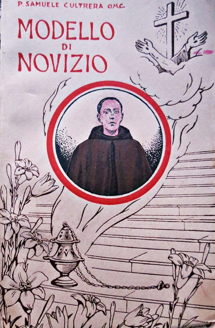 FRA CANDIDO DA MAZZARINO - MODELLO DI NOVIZIO