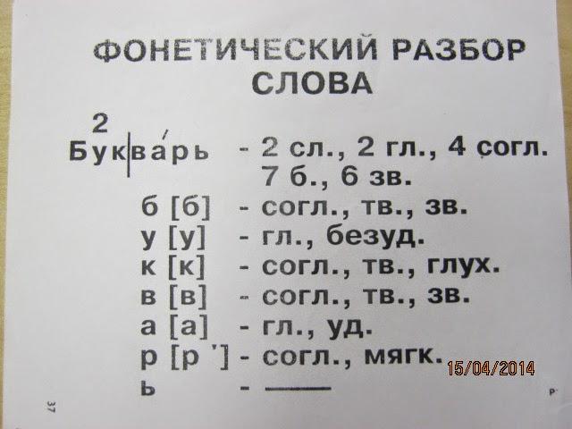 Как сделать фонетический разбор слова своя - Приморско-Ахтарск
