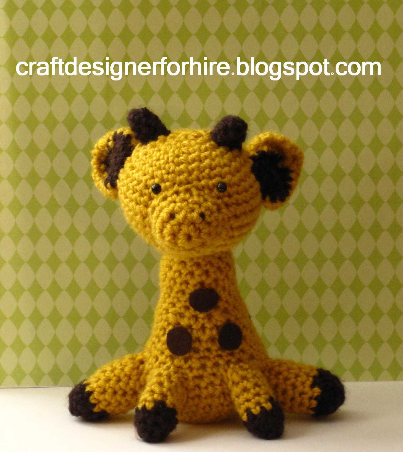 Hearty Giraffe amigurumi pattern Amigurumi Today - satukis.info