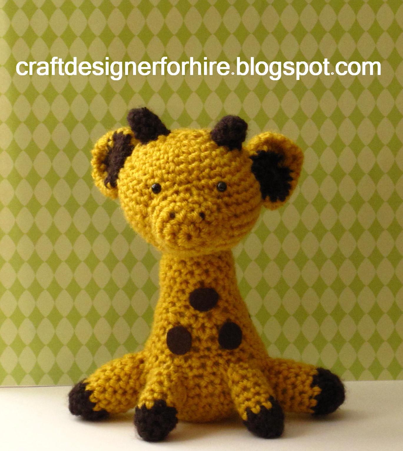 Eve Leder, Craft Designer : Amigurumi Giraffe from Craft ...