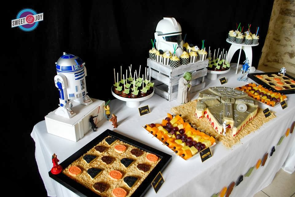little big company the blog star wars themed wedding. Black Bedroom Furniture Sets. Home Design Ideas