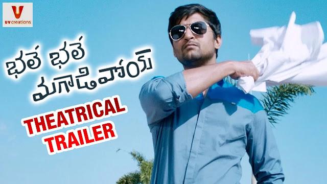 Bhale Bhale Magadivoi Theatrical Trailer | Nani | Lavanya Tripathi