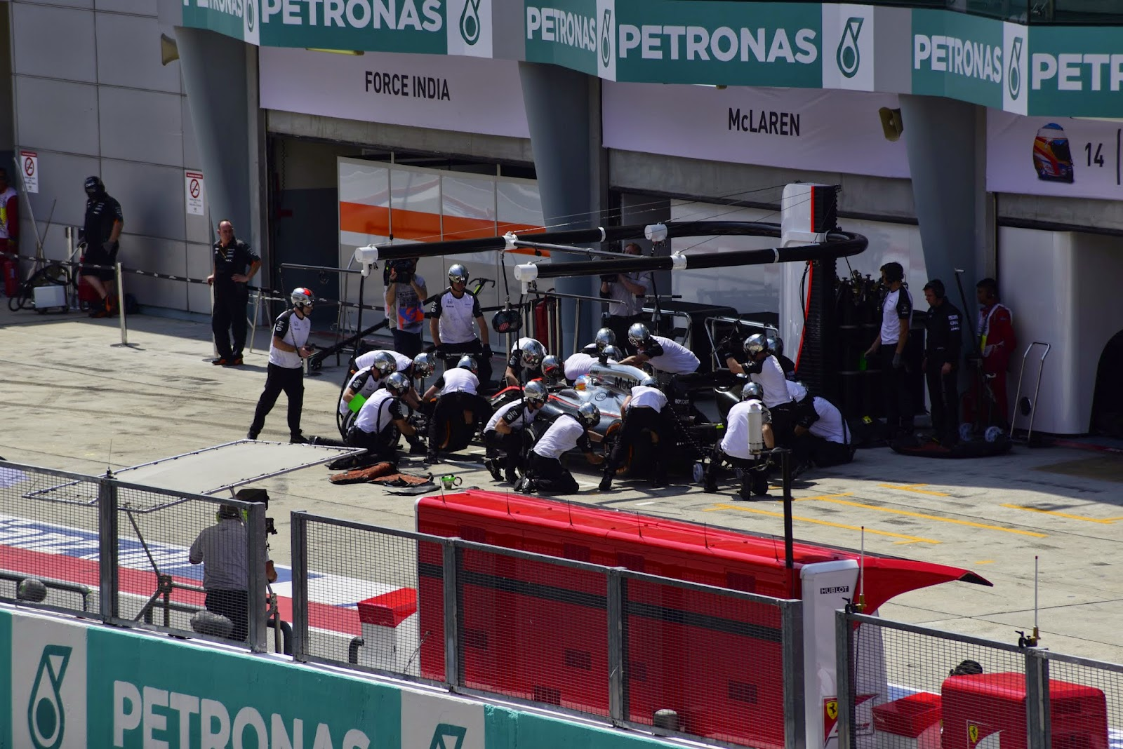 Honda Pit Stop Picture