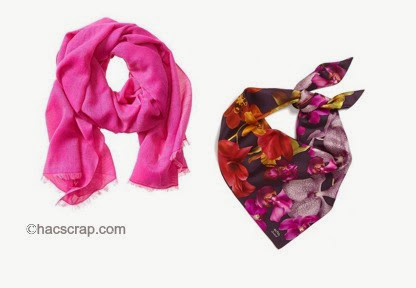 Radiant Orchid Scarves